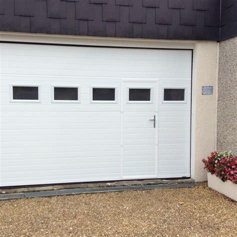 Porte Garage Avec Portillon 4047 by Porte De Garage Sectionnelle Avec Portillon La Toulousaine