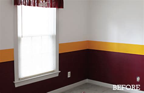 Redskins Bedroom Curtains Home Redskins Football Cave Room On