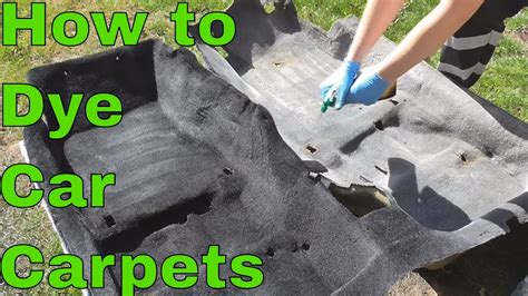 How To Dye Rugs by How To Dye Your Carpets Black