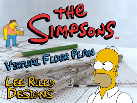 the simpsons virtual floor plan on behance the simpsons virtual floor plan on student show