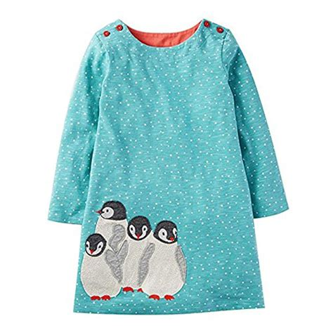 Dress Pinguin Import by Jumping Meters T Shirt Dress With Penguin Pattern