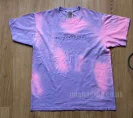 remember hypercolor i got a technacolour t shirt