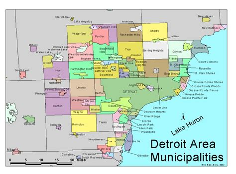 detroit usa map 29 new map of detroit area and suburbs afputra