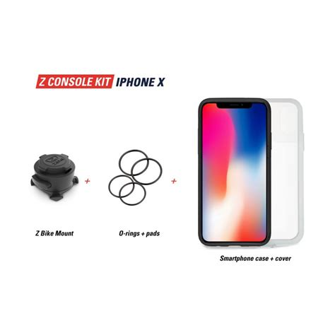 zefal  console smartphone holder  iphone  xs