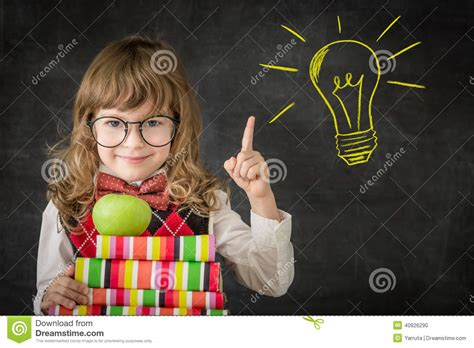 the child s conception of the world classic reprint books bright idea stock photo image 40926290