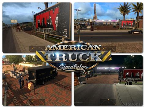 Ats Garage big garage and service for ats american truck simulator mods