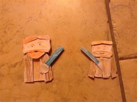 How To Make An Origami Obi Wan Kenobi - which obi wan origami yoda