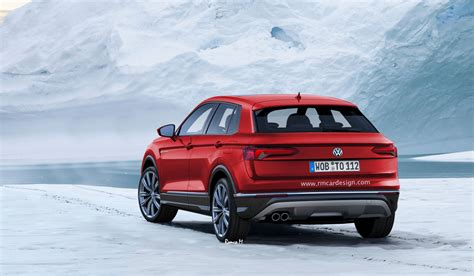 vw polo based crossover rendered with t cross tiguan cues