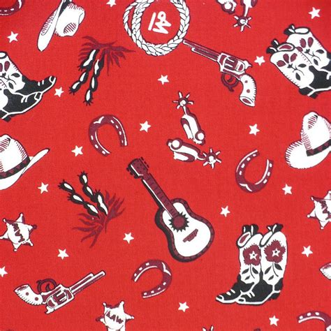 western print upholstery fabric fabric western print alexander henry cotton red bandana