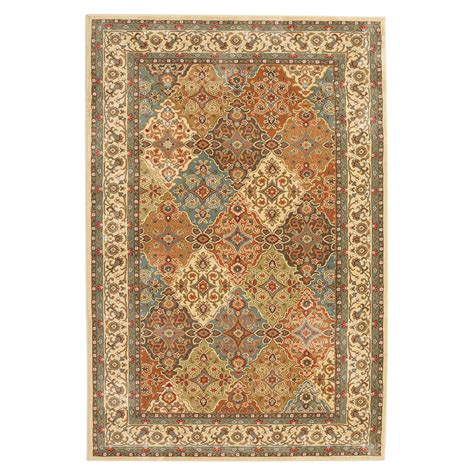 home depot accent rugs home decorators collection persia almond buff 2 ft x 3 ft
