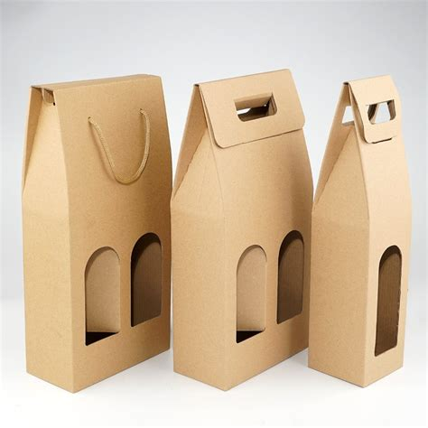 How To Make A Package Out Of Paper - kraft paper wine bags sting logo package oliver