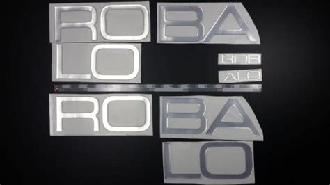 robalo boat letters decals for sale page 55 of find or sell auto parts