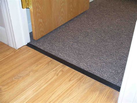 How To Replace A Metal Threshold On An Exterior Door Carpet Threshold Picture Interior Home Design How To Install A Metal Carpet Threshold