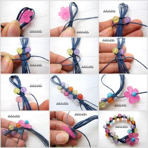 tutorial buat gelang tali sepatu membuat gelang tali bunga akrilik koleksikikie