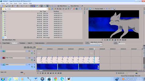 sony vegas pro animation tutorial how to move backgrounds for animations in photoshop sony