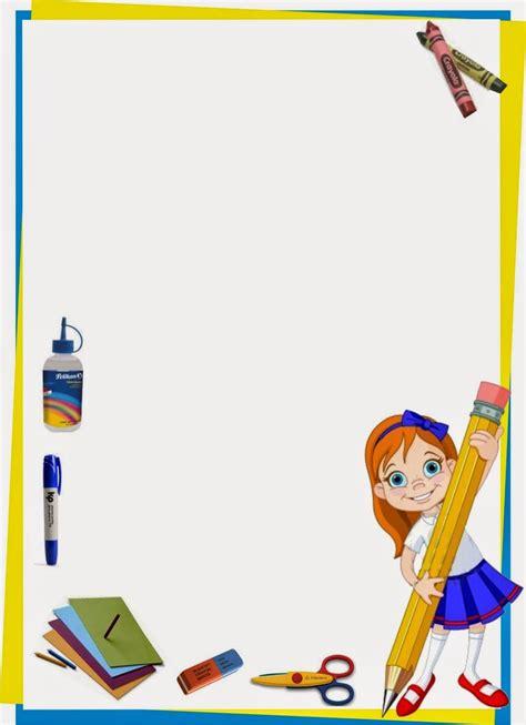 imagenes trabajo escolar maestra de primaria marcos infantiles para fotos y marcos
