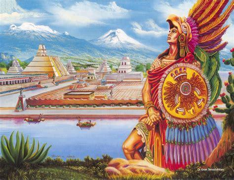 Imagenes De Aztecas De Mexico | how tenochtitlan became mexico city we are mexico in