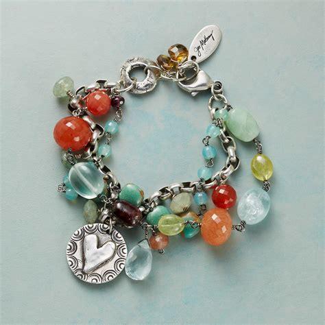 Handcrafted Artisan Jewelry - new jes maharry shining bracelet sundance
