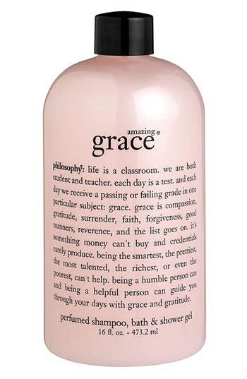 amazing grace shoo bath shower gel philosophy amazing grace shoo bath shower gel nordstrom