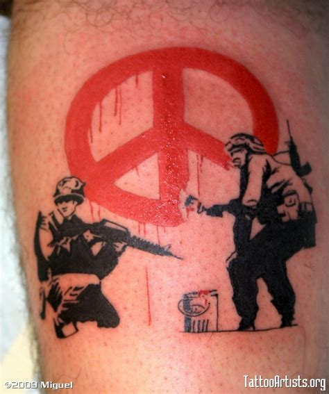 banksy tattoo banksy graffiti artists org