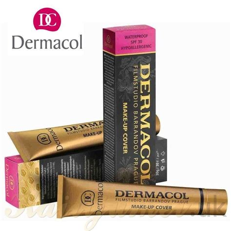 Foundation Dermacol dermacol cover legendary high covering foundation make up