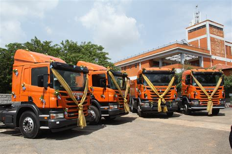 scania launches a new range of on road trucks in india