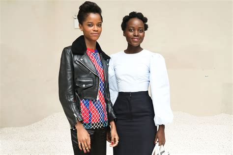letitia wright instagram black panther stars luptia nyong o letitia wright rap