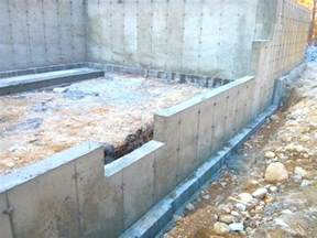 A Frame House Plans With Basement poured concrete walls vs concrete block ask the