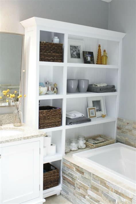 Kleines Bad Stauraum mehr stauraum im badezimmer schlaue und praktische