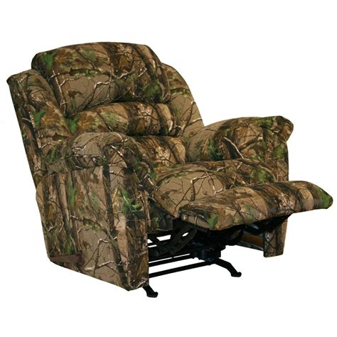 realtree camouflage rocker recliner high roller realtree camouflage chaise rocker recliner
