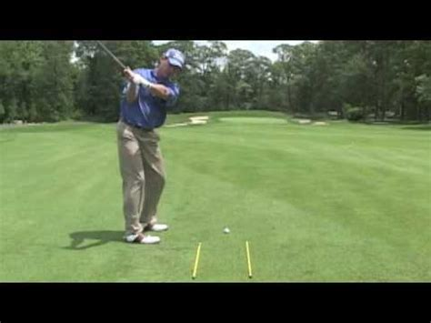 youtube golf swing lessons golf lessons michael breed swing on plane with the rods