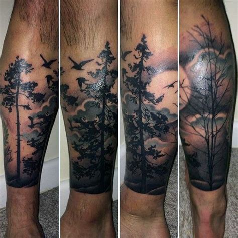leg tree tattoo designs best 25 lower leg tattoos ideas on tree