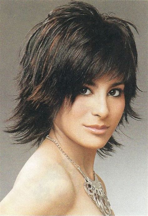 photos medium length flip hairstyles medium shag haircuts cute medium length flipped shag
