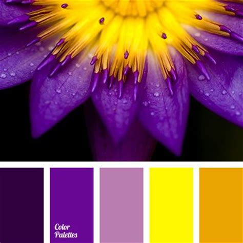 Colors That Match With Purple | 17 best ideas about yellow color palettes on pinterest