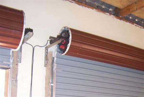garage door opener for roll up door roll up garage door rdo motor installed eec secure