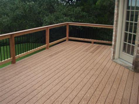 composite deck lumber decks austex fence and deck
