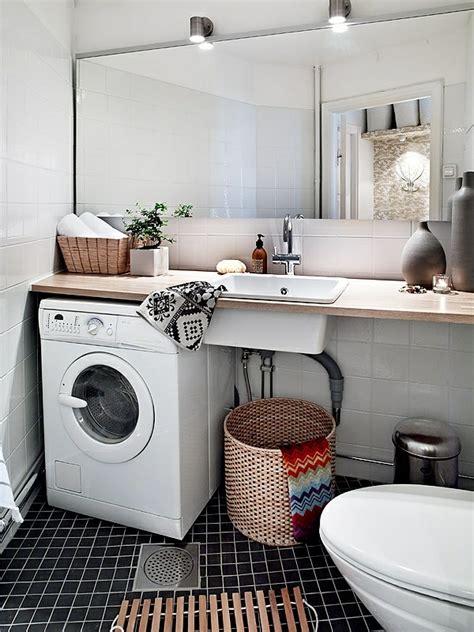 Kleines Bad Einrichten Waschmaschine by Nordische Mode Bei Der Einrichtung 50 Fotos Archzine Net