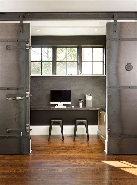 sliding barn doors for home 20 home offices with sliding barn doors