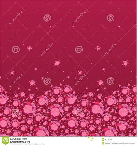 ruby horizontal seamless pattern background border royalty
