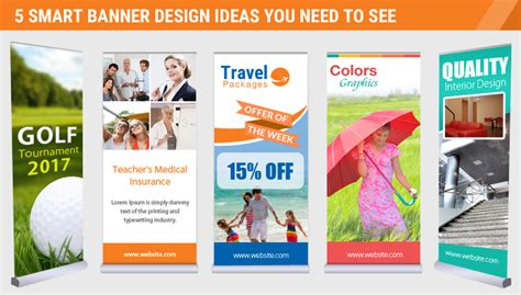 banner design ideas 5 smart banner design ideas you need to see
