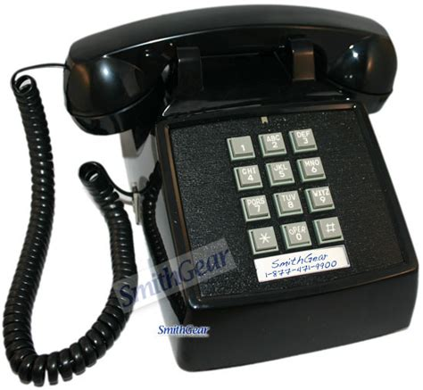 Desk Phone by Cortelco 2500 Desk Phone Black