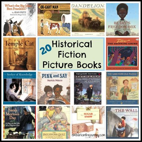 fiction picture books historical fiction books