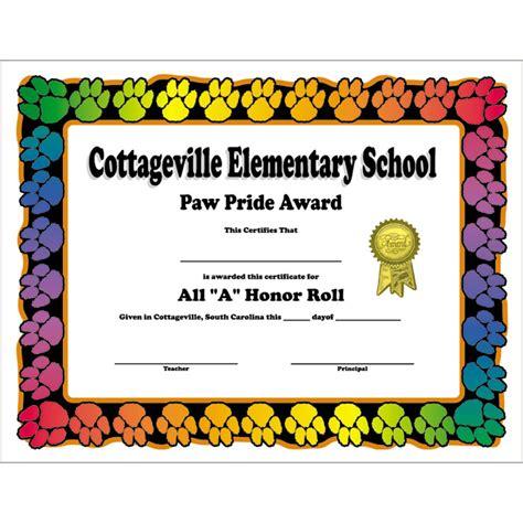 jones certificate templates jones certificate templates paw print border custom