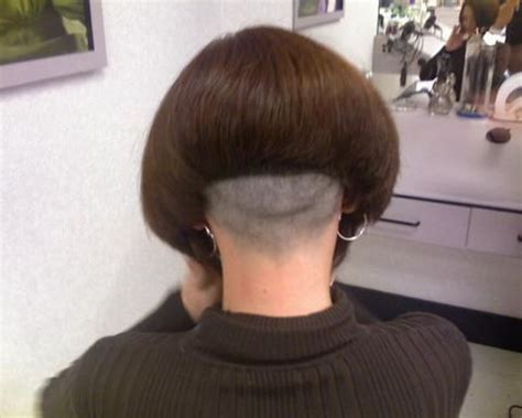 high back bob 17 best images about shaving back of the head on pinterest