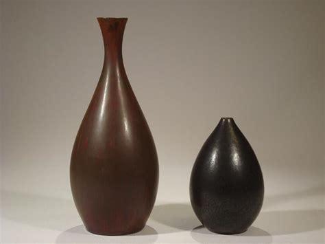 brown vases