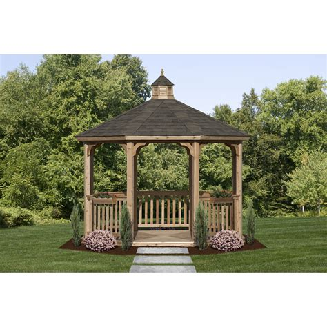 metal gazebo kits inspiring cedar gazebo kits 2 metal roof gazebo kits