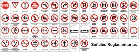 imagenes de señales informativas con su significado saber sociales seguridad vial