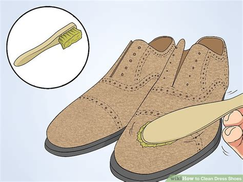 cleaning dress shoes how to clean dress shoes 8 steps with pictures wikihow