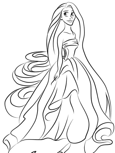 Coloring Pages Of Princesses by Princess Coloring Pages Best Coloring Pages For
