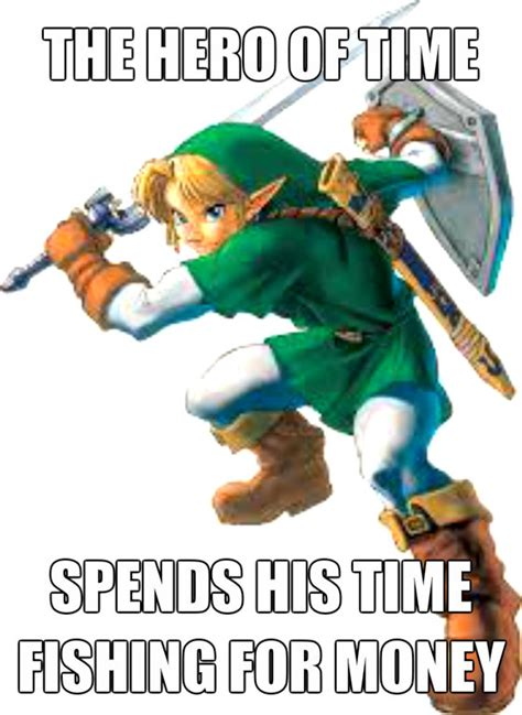 Link Meme - link meme by thehyrulianhero12 on deviantart